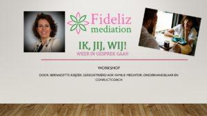 Workshop Ik + Jij = Wij